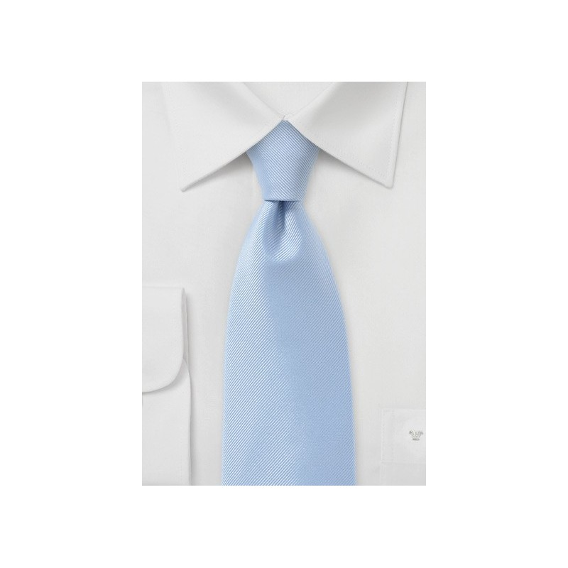 Textured Tie in Light Blue