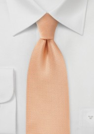 Metallic Orange Tie