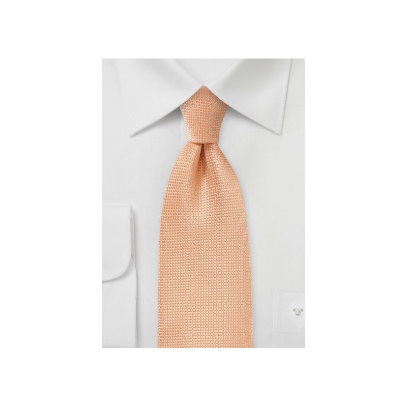 Metallic Orange Tie