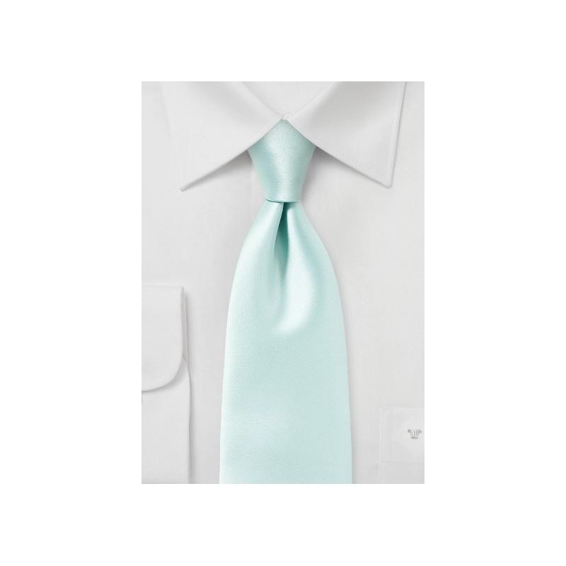 Pale Mint Green Necktie