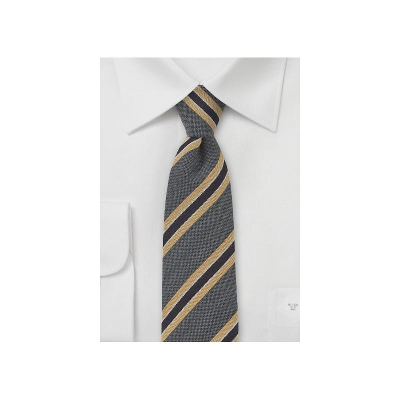 Skinny Wool Tie by BlackBird