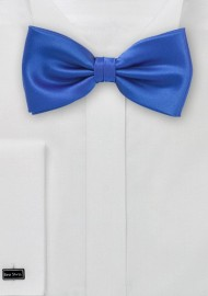 Solid Horizon Blue Bow Tie