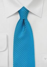 Jewel Toned Turquoise Tie