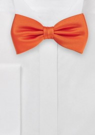Warm Tuscan Orange  Bow Tie