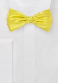Bright Sunshine Bowtie Made from Pure Silk