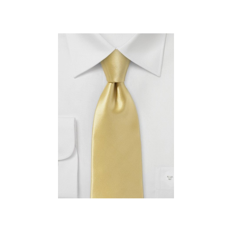 Vintage Gold Necktie