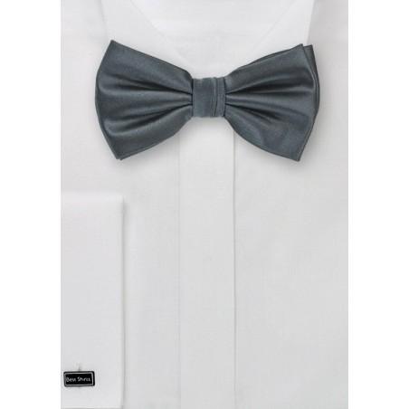 Pretied Bow Tie Smoke Gray Color P 19232 Jpg