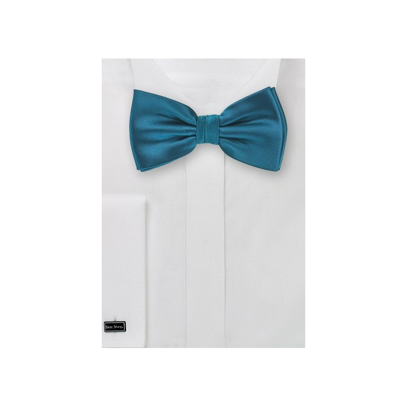 Turquoise Blue Bow Tie for Men