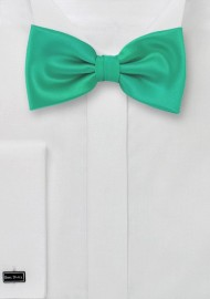 Bright Jade Green Bow Tie