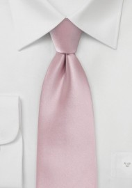 Soft Pink Colored Necktie