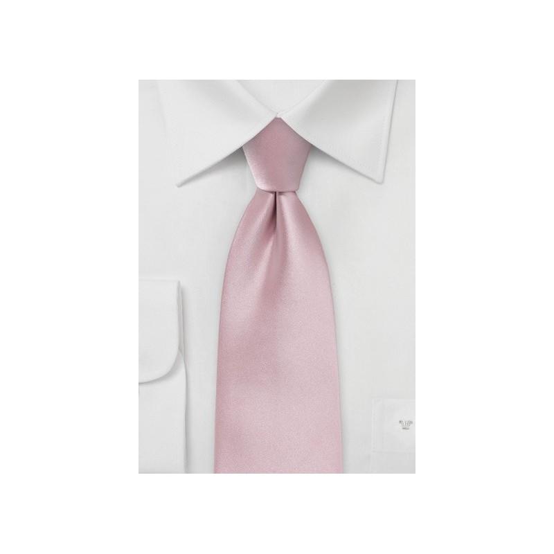 Soft Pink Colored Necktie