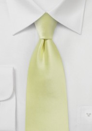 Lemon Grass Colored Necktie