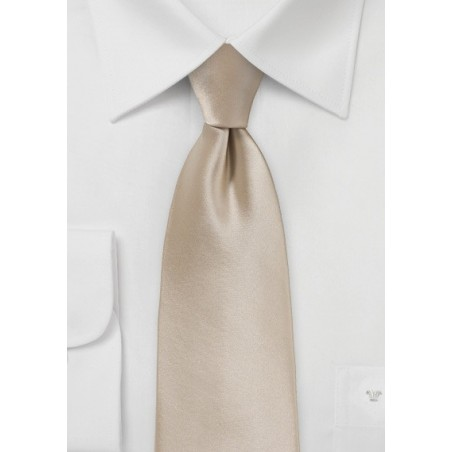 Champagne Hued Neck Tie