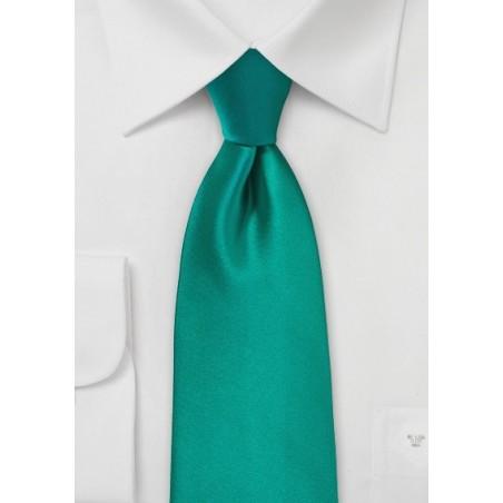 Jade Colored Necktie