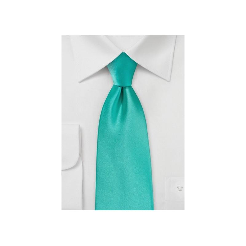 Mermaid Color Necktie in Single Color
