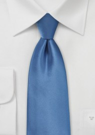 Steel Blue Color Neck Tie