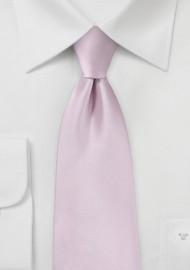 Soft Lilac Pink Hued Necktie