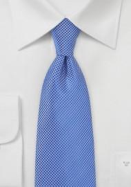 Cobalt Blue Textured Kids Tie