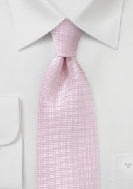XL Length Tie in Tea Rose