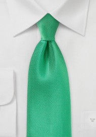 Textured Spring Green XL Tie