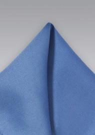Solid Blue Men's Pocket Square