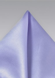 Solid Lavender Hued Men's Pocket Square
