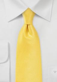 Bold Colored Kids Tie in Sunbeam Yellow