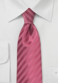 Bold Summer Tie in Raspberry Sorbet Color