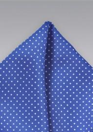 Horizon Blue and White Pocket Square