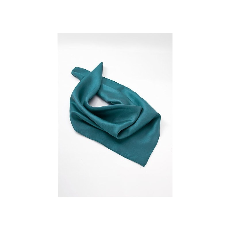 Women's Silk Scarf in Jade Green