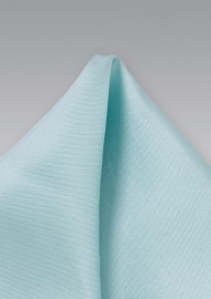 Light Mint Colored Silk Pocket Square