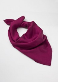 Women's Silk Scarf in Fuchsia Pink