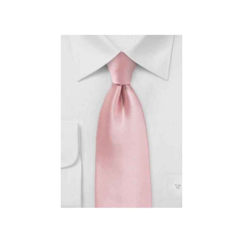 Petal Pink Hued Kids Necktie