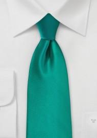 Jade Colored Kids Tie
