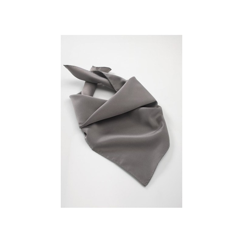 Square Sized Women's Scarf in Gray