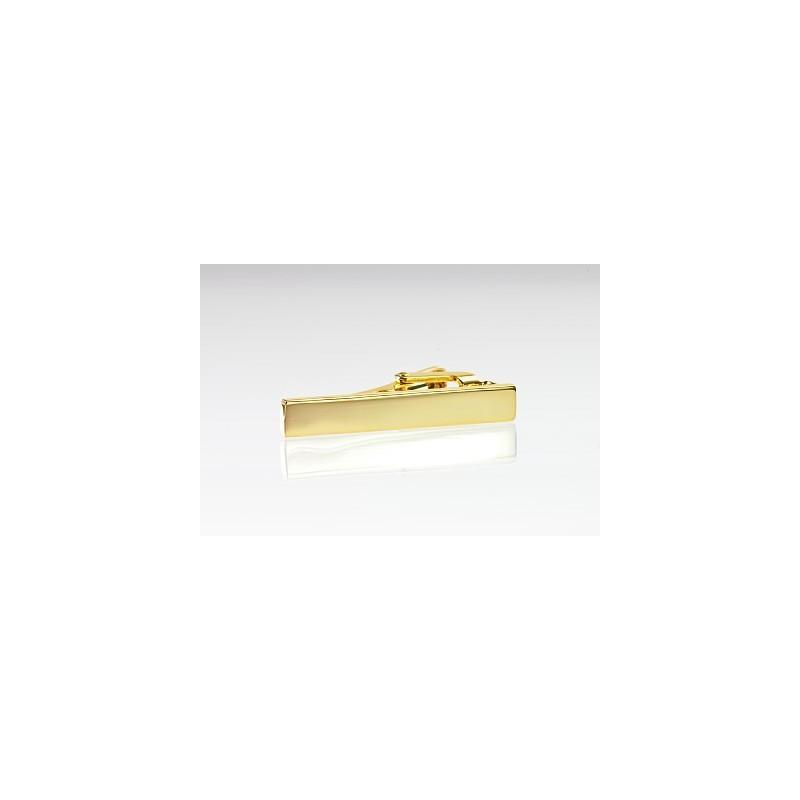 Skinny Tie Bar in Gold