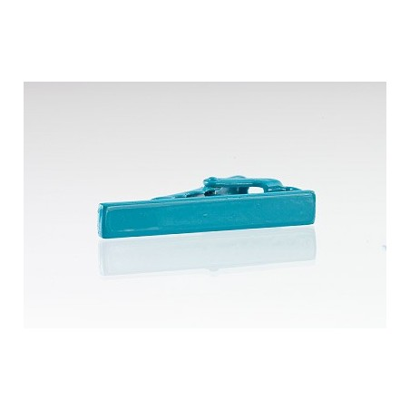 Narrow Tie Bar in Turquoise
