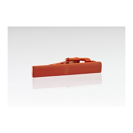 Orange Colored Tie Bar