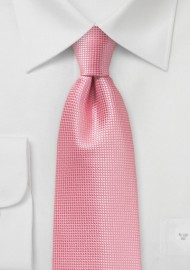 Summer Necktie in Flamingo Pink