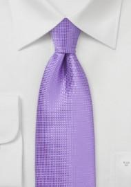 Royal Lilac Colored Necktie