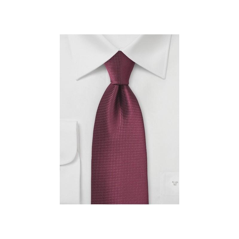 Rosewood Color Necktie