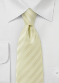 Pastel Yellow Summer Necktie