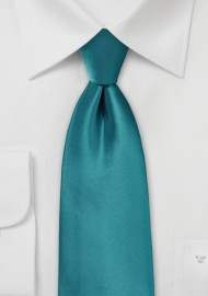 Oasis Color Necktie in XL Length