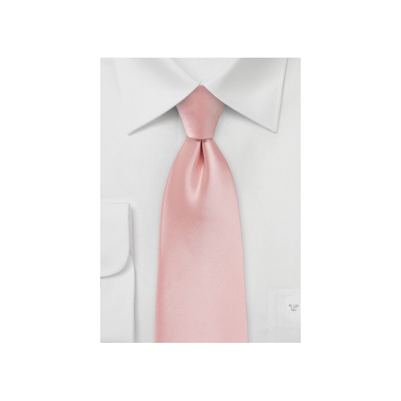 Candy Pink Colored Boys Necktie