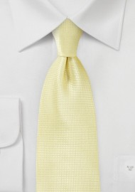 Kids Tie in Citrine Yellow