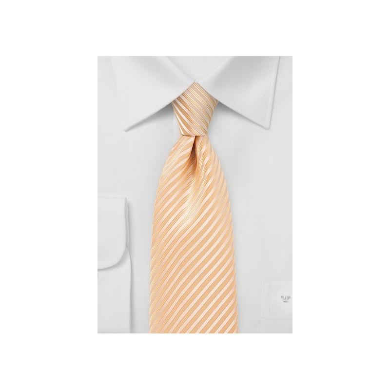 Peach Fuzz Colored Men's Tie