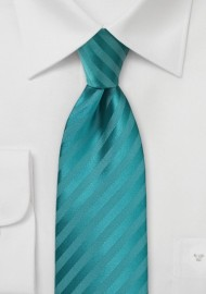 Oasis Striped Kids Length Necktie