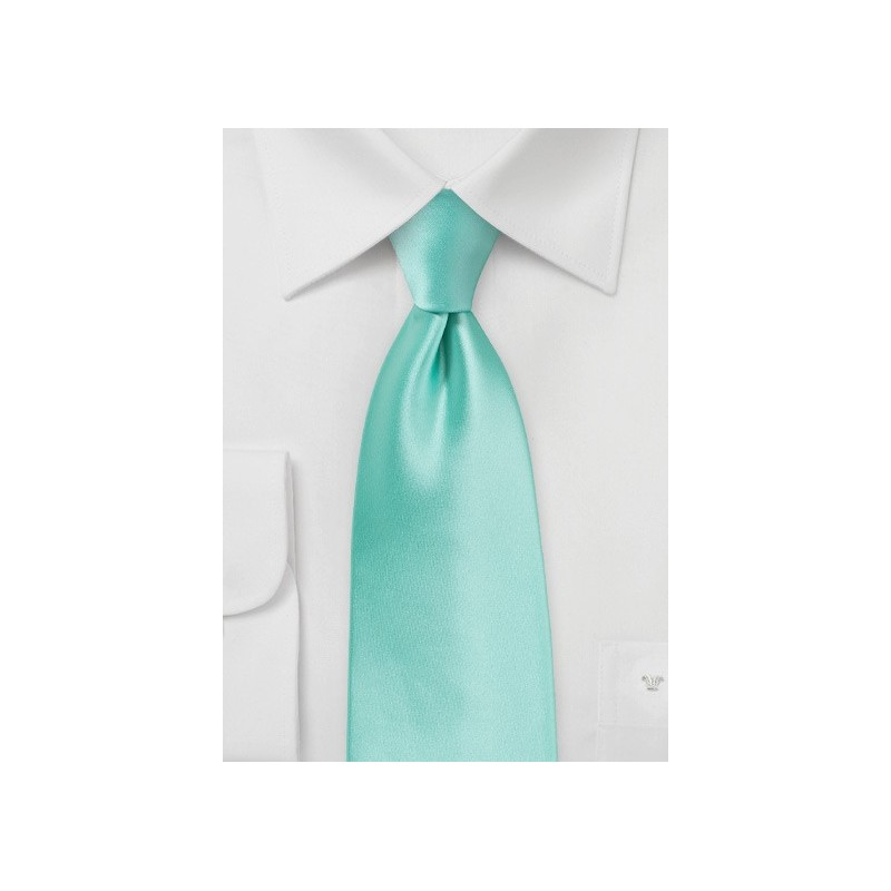 Beach Glass Colored Necktie