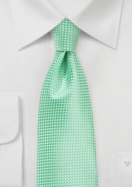 Mens Tie in Paradise Green