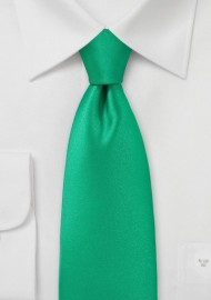 Fresh Emerald Green Necktie